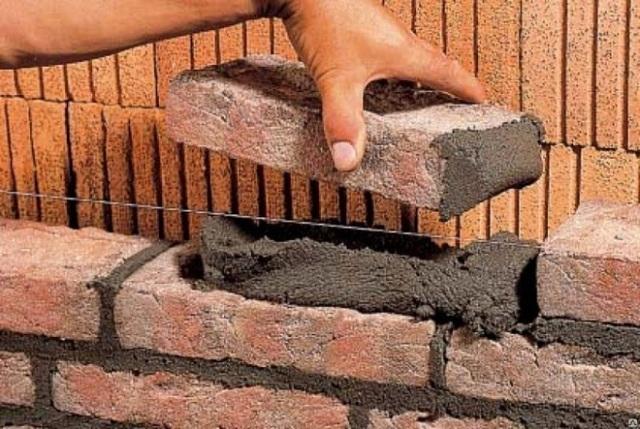 Цемент для кладки кирпича: как использовать, виды