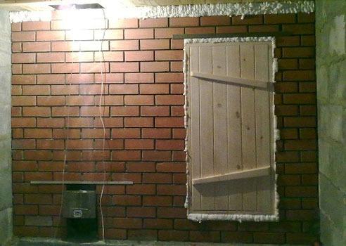 Перегородка из кирпича в бане: как сделать, преимущества