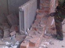 Демонтаж кирпичной трубы: способы, меры предосторожности