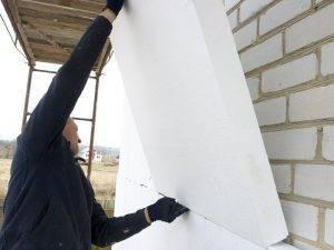 Утепление дома из силикатного кирпича: этапы работы