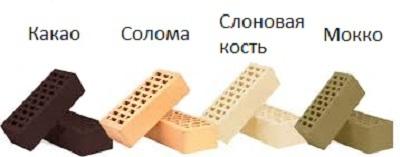 Кирпич Терекс: виды, преимущества, использование