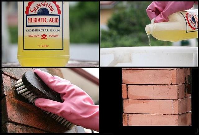 Чистка кирпича от цемента, глины, краски и штукатурки