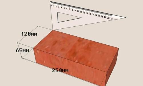 Черновой кирпич: характеристики, размеры, плюсы