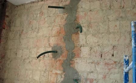 Реставрация кирпичной кладки: вычинка, расшивка, укрепление