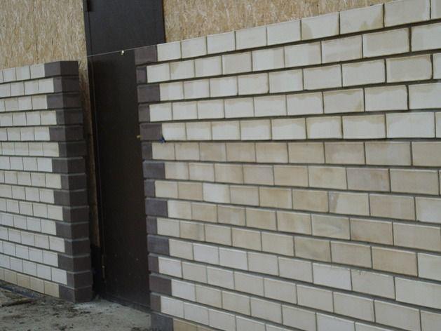 Как дом из СИП-панелей обложить кирпичом: обязательные материалы