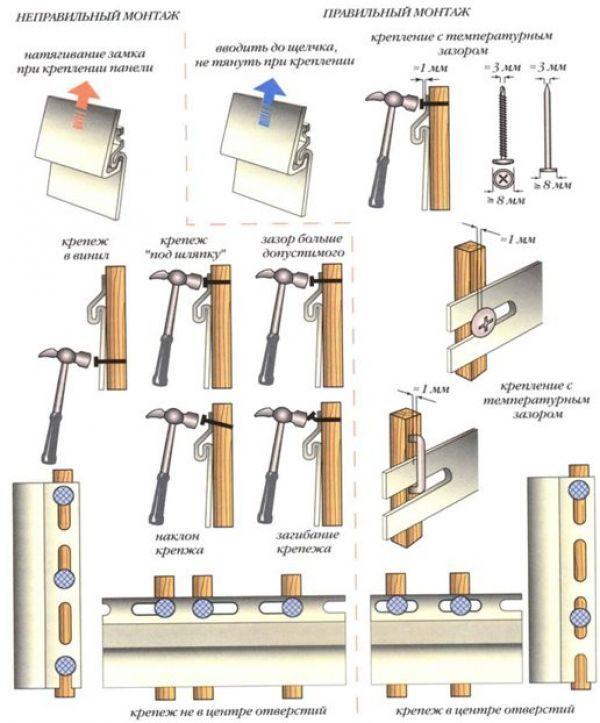 Металлический сайдинг под кирпич: производители, виды