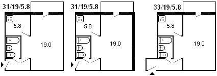 Серии домов из кирпича: хрущевки, малосемейки, панельные