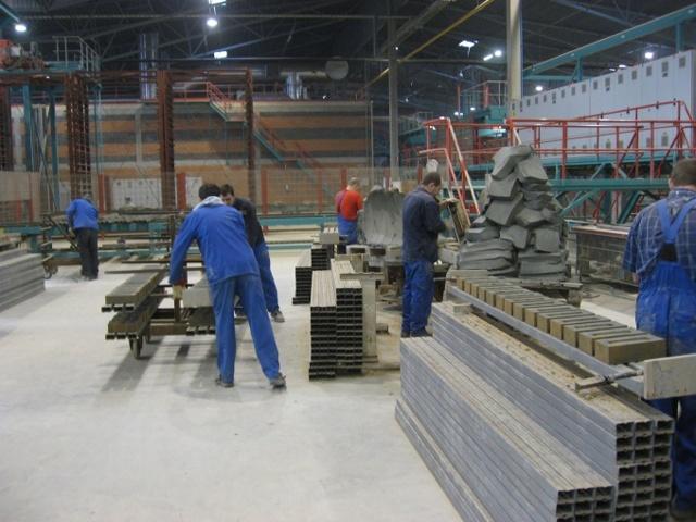 Кирпич ручной формовки: технология производства