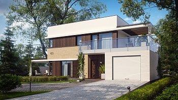 Проекты домов из газобетона и кирпича: свойства