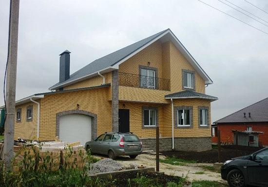Дом из желтого кирпича: преимущества, недостатки