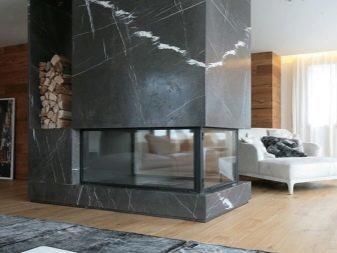 Угловой камин из кирпича: пошаговая кладка, чертежи