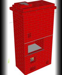 Отопительная печь 2х2 кирпича: сколько нужно материала