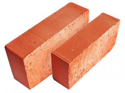 Размер кирпича: красный, силикатный, облицовочный