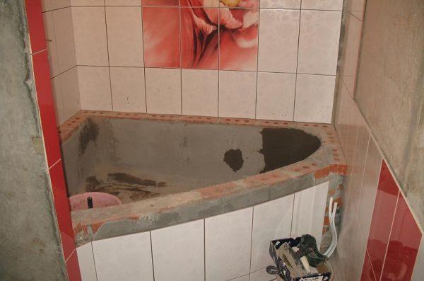 Ванна из кирпича: как выложить, целесообразность
