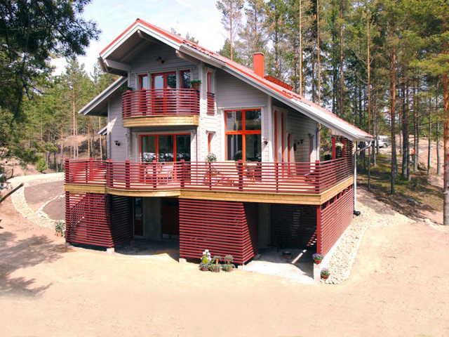 Финский дом из кирпича: проекты, особенности строительства