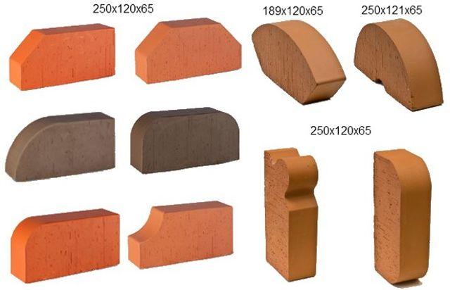 Облицовочный кирпич для фасада: виды, применение