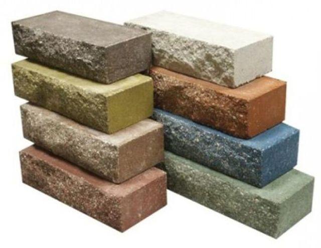 Цветной кирпич: производители, области применения