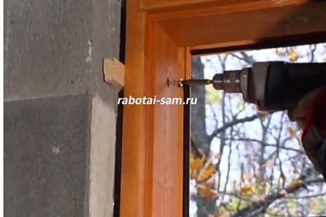 Установка окна в кирпичном доме своими руками