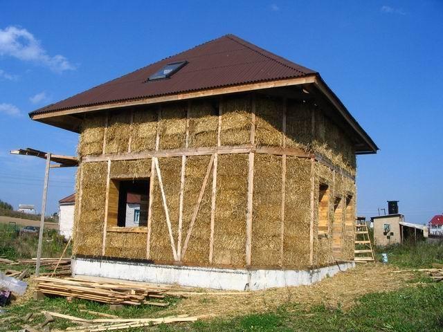 Дом из самана своими руками: как сделать, облицовка