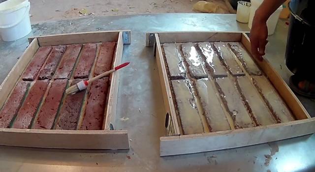 Изготовление кирпича из гипса: формы, материалы