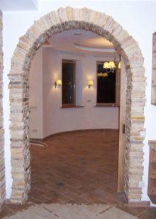 Как отделать арку декоративным кирпичом: этапы работы
