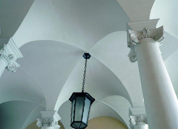 Потолок из кирпича: как сделать, варианты, укрепление