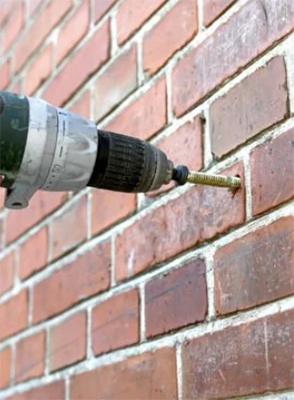 Чем сверлить кирпичные стены и какие этапы подготовки?