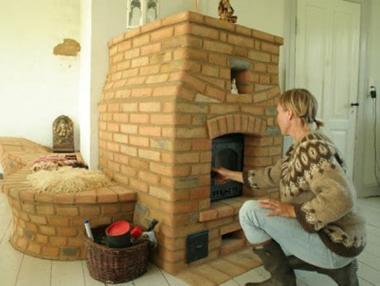 Как класть огнеупорный кирпич и какой приготовить раствор?