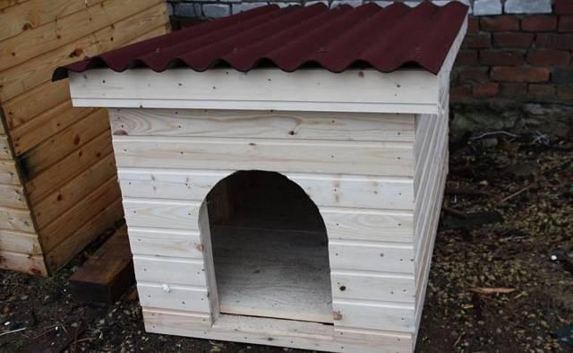 Будка для собаки из кирпича: как построить, материалы