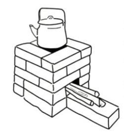 Печи на улице для дачи: чертежи, как правильно строить
