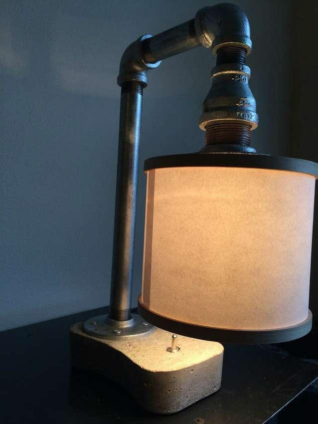Светильник из кирпича: вариации, порядок работы