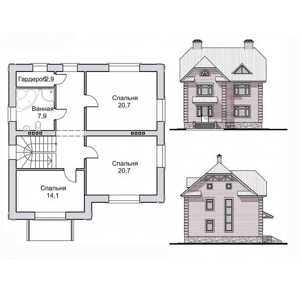 Дом из красного кирпича: плюсы, техника кладки