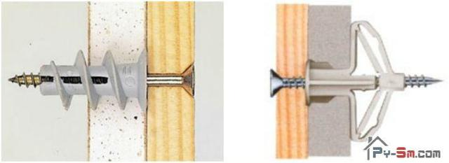 Как прикрепить доску к кирпичной стене: способы