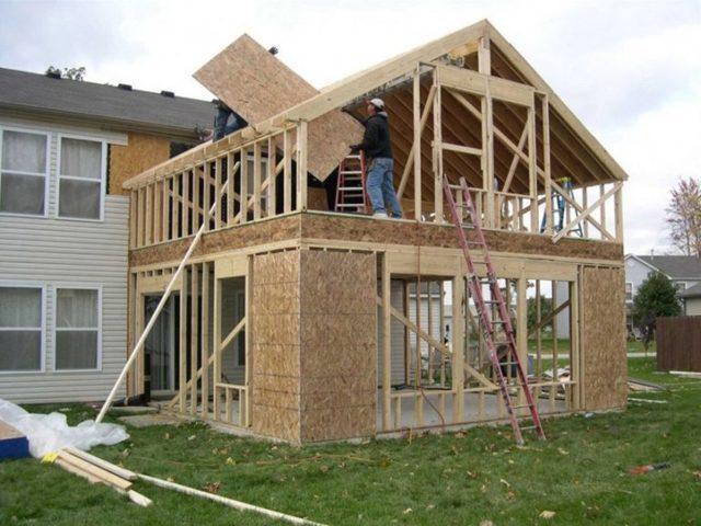 Пристройка к кирпичному дому: проекты, варианты