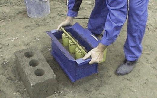 Бетонный кирпич: изготовление, формы, применение