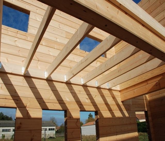 Деревянные перекрытия в кирпичном доме: виды, как установить