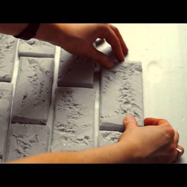 Кирпич из пенопласта: как сделать, укладка, недостатки