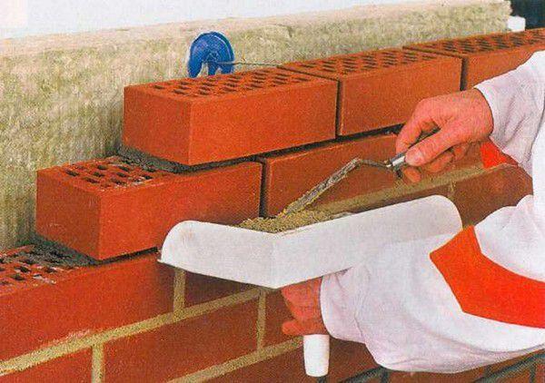 Белый кирпичный шов: как сделать, какой раствор нужен