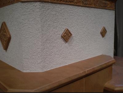 Отделка кирпичной печи: декоративный камень, плитка