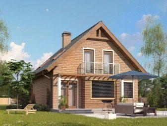 Одноэтажный кирпичный дом: проекты, облицовка