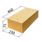 Вес шамотного кирпича и какие существуют размеры?