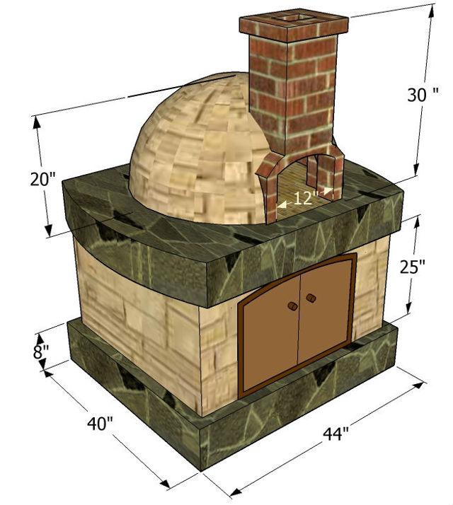 Помпейская печь: порядовка, схема, первый запуск