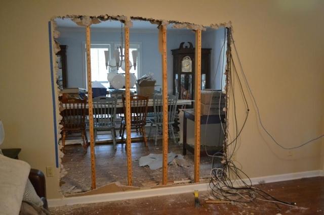 Как определить несущую стену в кирпичном доме?