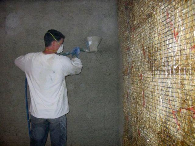 Штукатурка кирпичных поверхностей: приготовление раствора