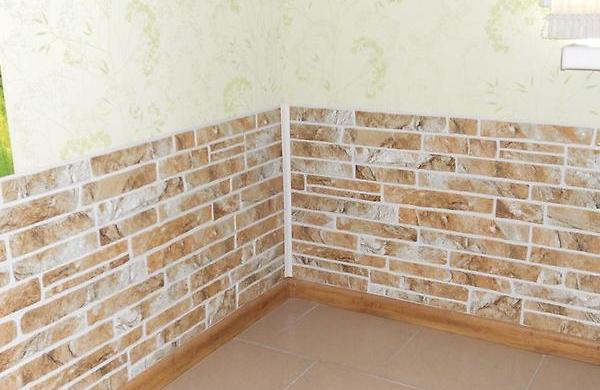 Панели под кирпич для внутренней отделки стен: ПВХ, пластик, МДФ