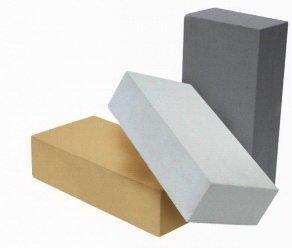 Черный кирпич: разновидности, для чего используется