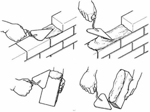 Кладка облицовочного кирпича: технология, способы