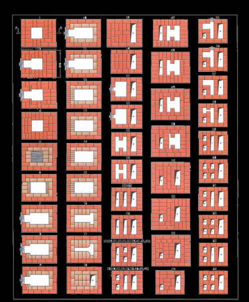 Двухэтажная печь: этапы строительства, материалы