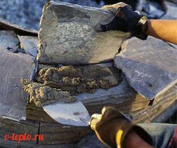 Очаг из кирпича на даче своими руками: виды, материалы