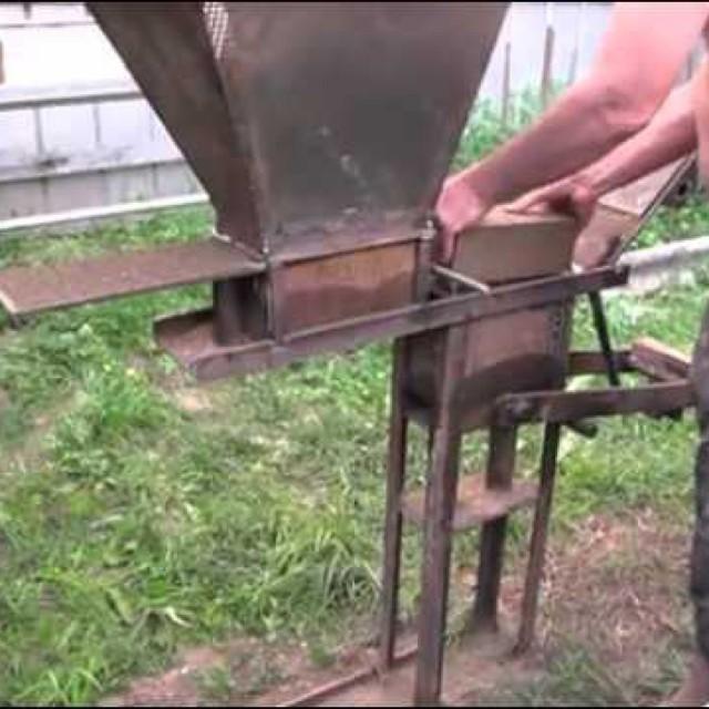 Пресс для производства кирпича: виды, как сделать